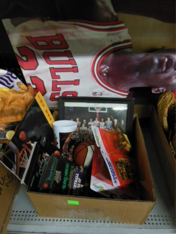 Large lot assorted basketball items