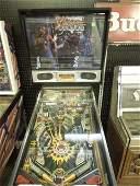 "Vintage Data East ""Laser War"" pinball machine"