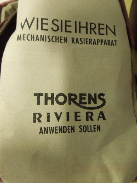 1950's Thorens Riviera Wind-Up Razors - 2