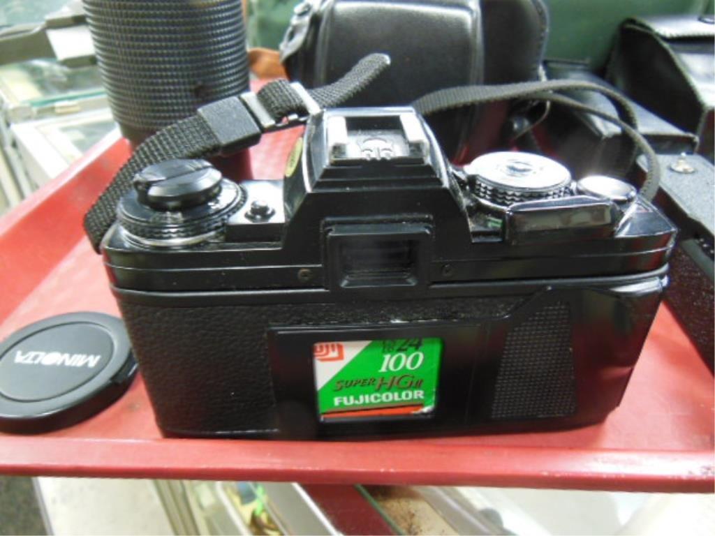 Minolta X-700 Camera w/Accessories - 3