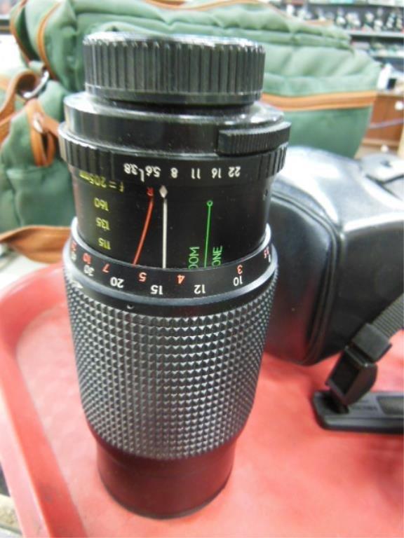 Minolta X-700 Camera w/Accessories - 4