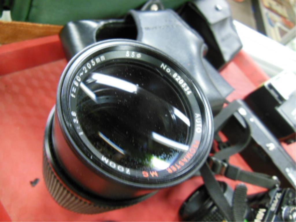 Minolta X-700 Camera w/Accessories - 5