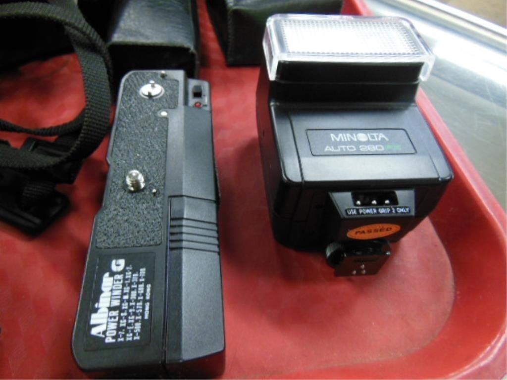 Minolta X-700 Camera w/Accessories - 6
