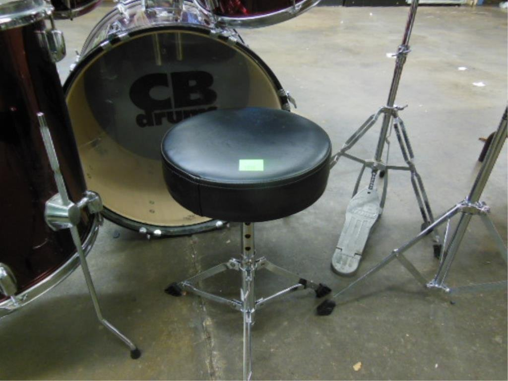 8 Piece Drum Set, CB Drums - 4