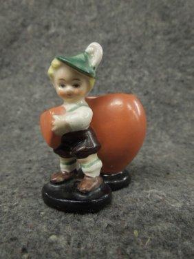 Small Goebel Figure Vase