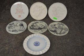 Danish Porcelain & Pottery Plaques