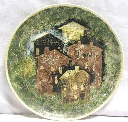 4002: Sascha Brastoff pottery plate