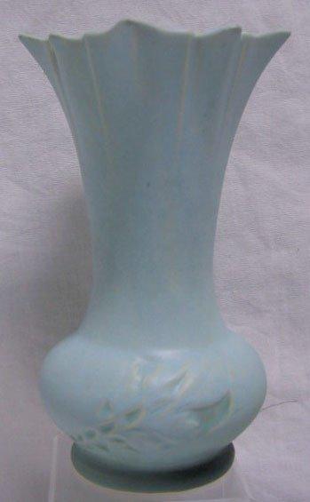 """4009: Roseville pottery vase """"Silhouette"""""""