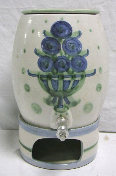 4016: Hadley pottery water cooler