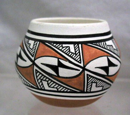 4019: Amer. Indian pottery vase