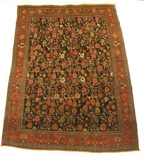 4147: Antique northwest Persian area carpet