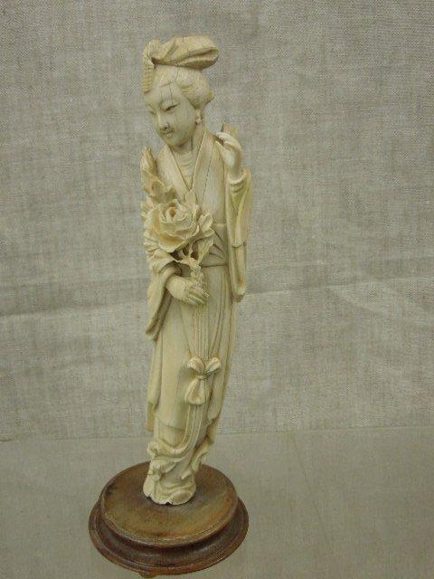 Antique Chinese Ivory Kwan Yin Figure Mar 06 2016 Bs Slosberg