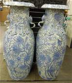 Contemporary Chinese Porcelain Palace Vases