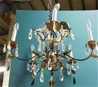 Louis XVStyle Wrought Iron Chandelier