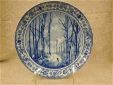 Rosenthal Blue & White Porcelain Charger