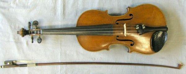 63: German violin, circa 1900
