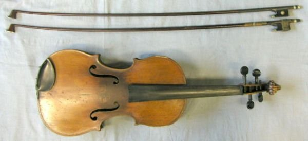 65: French violin c. 1890, labeled