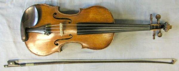 69: Markneukirchen school violin