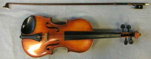 73: 1/4 size, Suzuki Japan 1975, violin