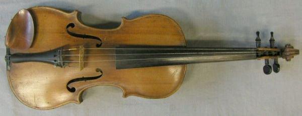 75: German violin, circa 1890