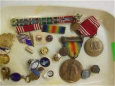 Lot of Vintage service & other pins