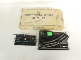Vintage Marx Remote Control Switch Set