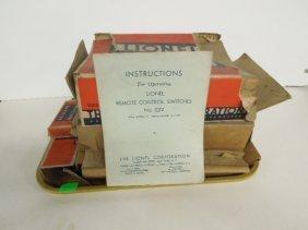 3 Lionel Switches & Contactors