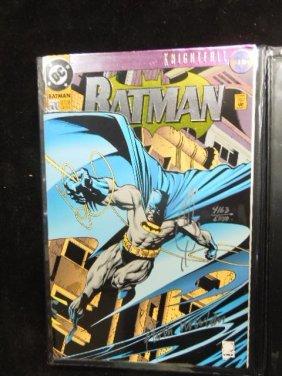 Signed Dc Batman No. 500 Comic Book