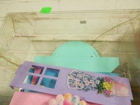 8 Sets Of Plastic Barbie Furniture