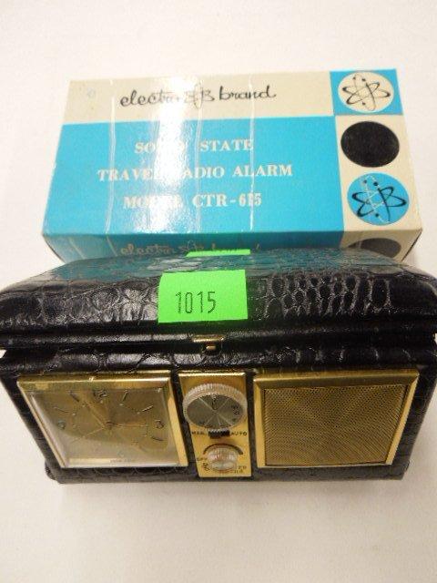 Electro Brand Solid State Radio Alarm