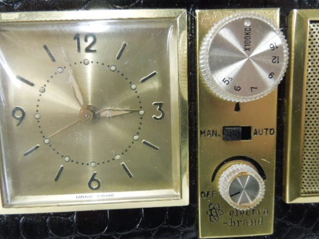 Electro Brand Solid State Radio Alarm - 4
