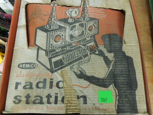 Remco Radio Station Play Set