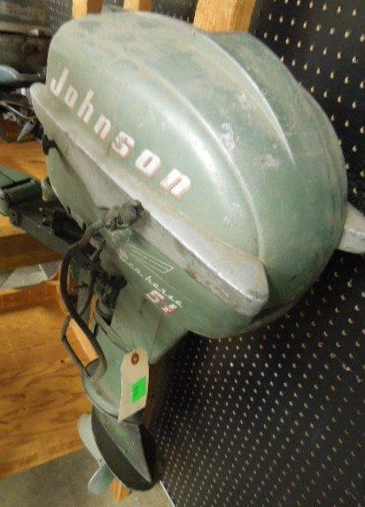 Vintage Johnson Seahorse 5.5 HP Tiller Boat Engine