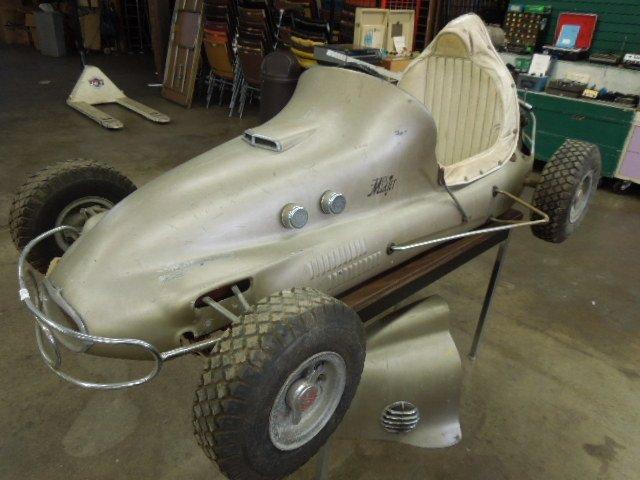 Vintage 1948 Moss-Mid Jet 1/4 Midget Racer