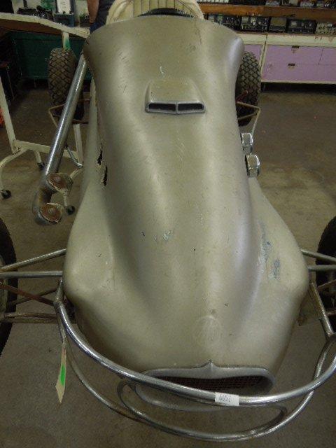 Vintage 1948 Moss-Mid Jet 1/4 Midget Racer - 8