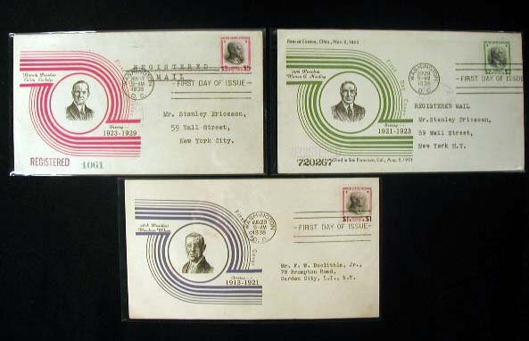 1: Reich design 1938 Presidential First Day Covers