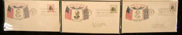 5: Fidelity 1938 Presidential First Day Covers