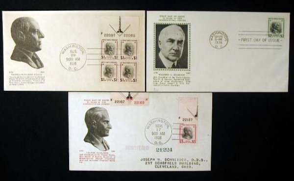 14: J E Kee 1938 Presidential First Day Covers
