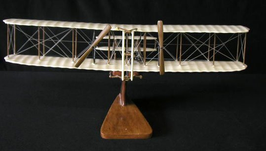 1004: Wright Bros. Model Airplane
