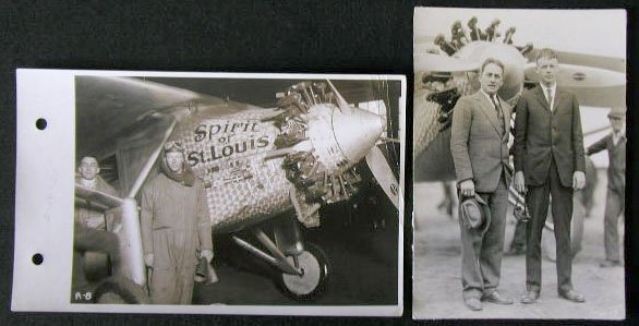 "1008: C Lindbergh C. 1928 ""Spirit of St Louis"" Photo"