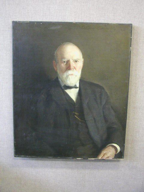 3001: Adolphe Borie Signed O/C