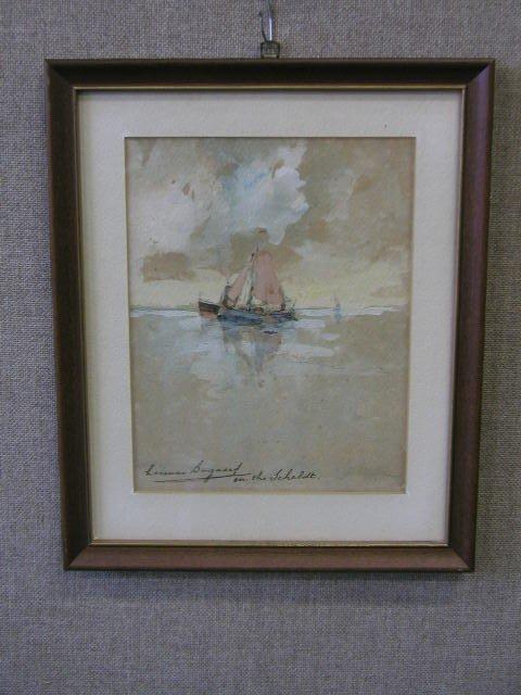 3015: Herman Bogaerd Signed Watercolor