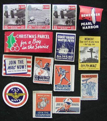 4016: 14 Patriotic Labels