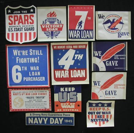 4018: 11 Patriotic Labels