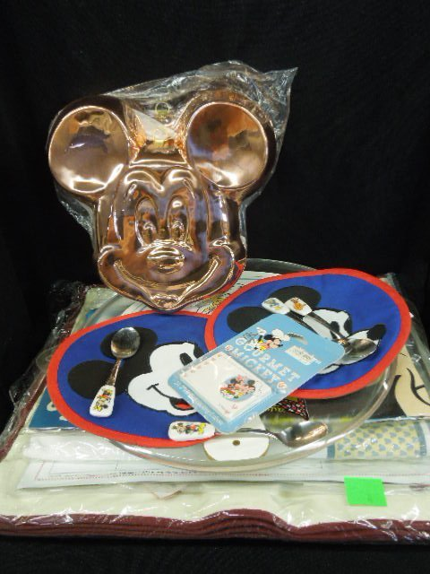 Gourmet Mickey & Other Kitchen Items