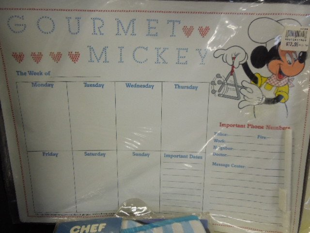 Gourmet Mickey & Other Kitchen Items - 4