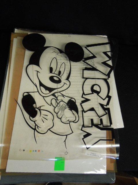 Disney Drawings, Prints and Transparencies