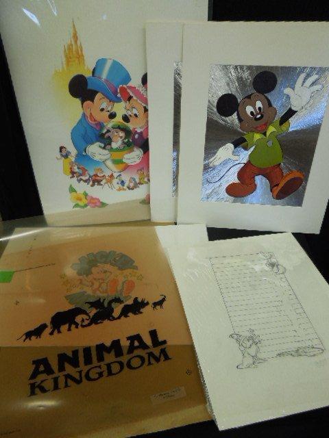 Disney Drawings, Prints and Transparencies - 2