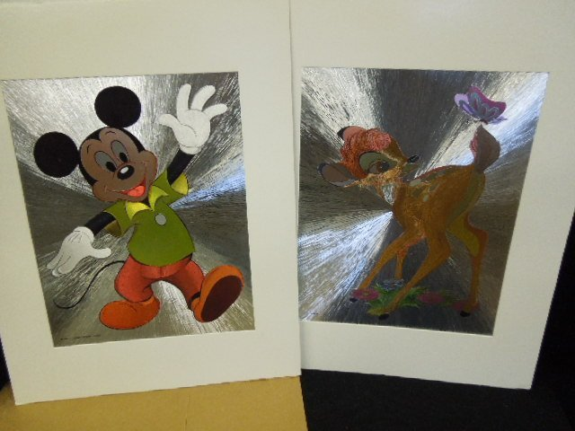 Disney Drawings, Prints and Transparencies - 4