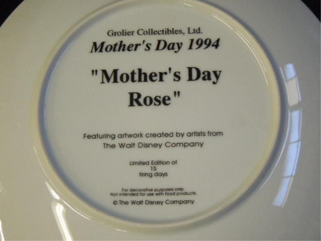 10 Disney Mother's Day Plates - 3